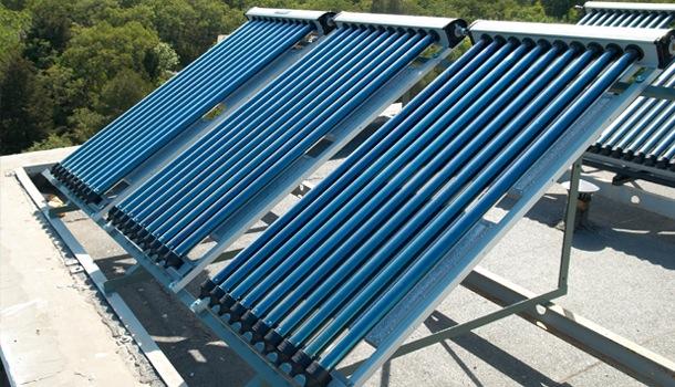 Zonnepanelen plat dak veranda