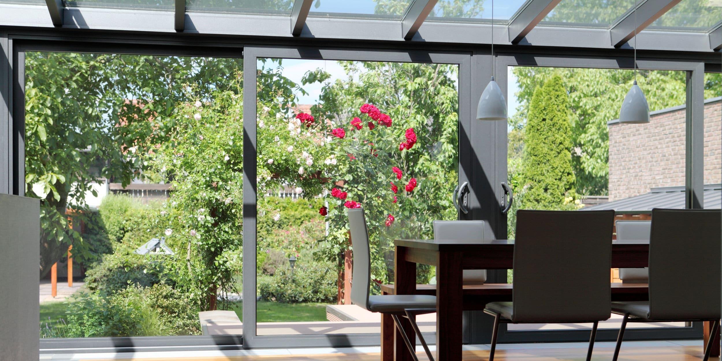 schuifraam veranda